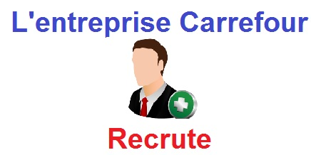 carrefour recrute
